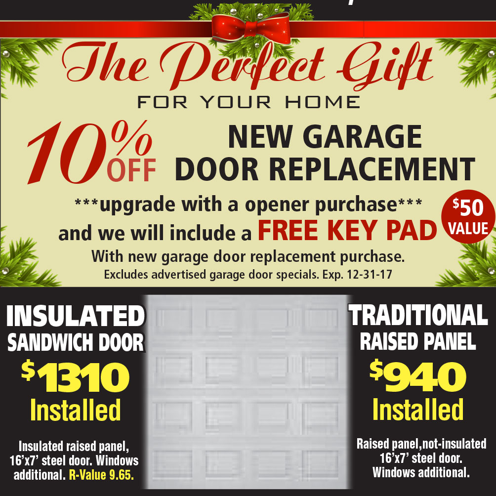 10 off new garage door replacement u2013 november
