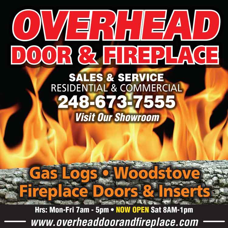 Overhead Door Fireplace November Specials Overhead Door