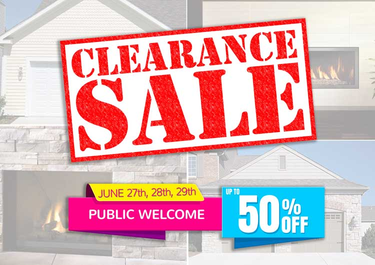 Overstock Clearance Sale June 27th 28th 29th