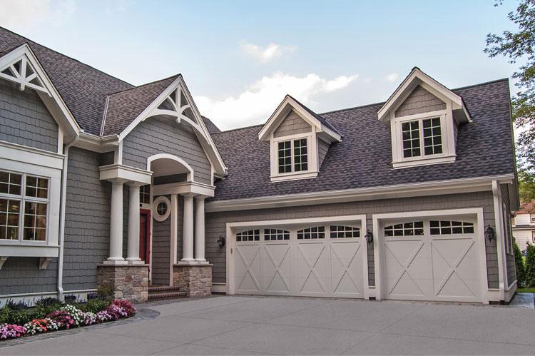 overlay carriage house garage door installation company